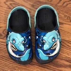 Boys Light up Crocs size 12